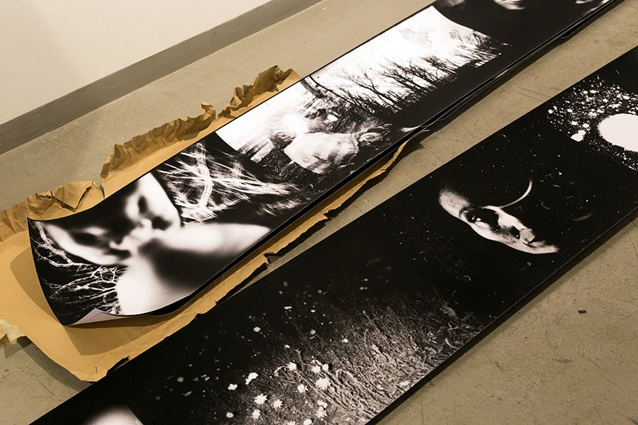 Installation view(detail) - Officine Fotografiche Roma